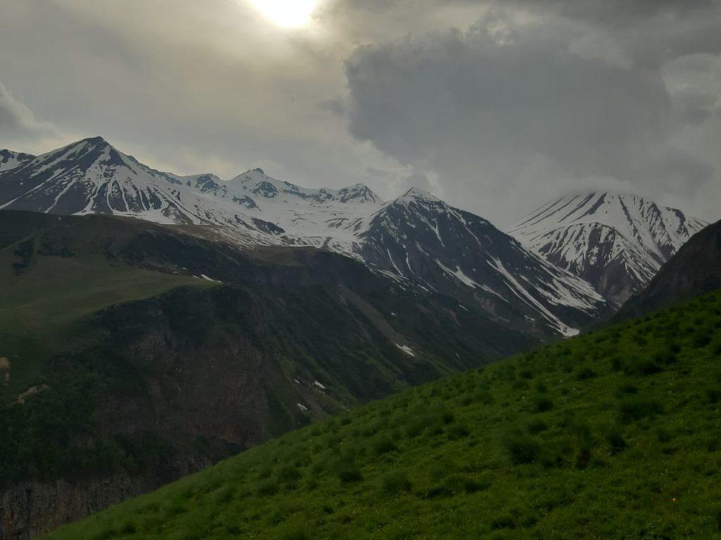 грузинские горы Кавказа